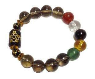 5-element crystal bracelet