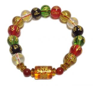 Assorted crystal mani bracelet