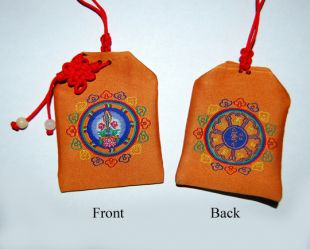 Manjushree Dharma charm bag