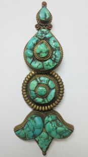 Turquoise Hanging ornament
